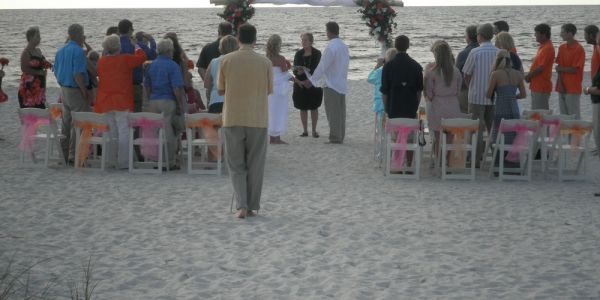 Beachfront weddings & receptions at South Beach Bar & Grille